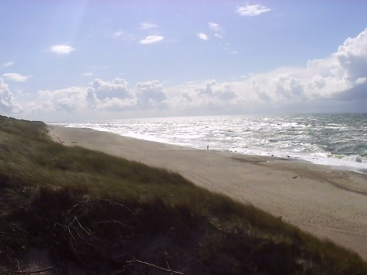 Strand an der dänischen Nordsee