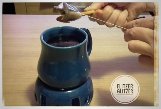 Thermonix während der Teezubereitung